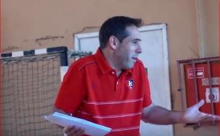 R.Kurtinaičio asistentas A.Blanco: noriu padėti treneriams tobulėti