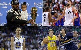 NBA žaidėjų piniginės: J.Valančiūnas ir S.Curry uždirbs mažiau nei milžinas iš Rusijos