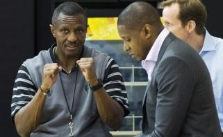 """""""Raptors"""" vadovas neabejoja trenerio D.Casey likimu, kaip nesibaigtų sezonas"""