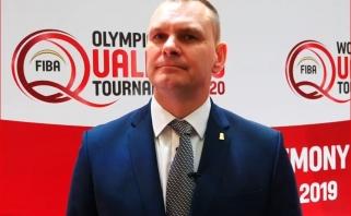 LKF generalinis sekretorius M.Špokas: įspūdžiai po burtų ceremonijos geri