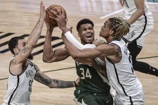 "Du žaidėjai pelnė kone 80 proc. taškų, ""Bucks"" dūrė atgal, ""Jazz"" didina atotrūkį"