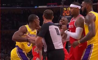NBA verdiktas: muštynių Los Andžele dalyviams - diskvalifikacijos ir didžiulės baudos