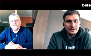 Neseniai tėčiu tapęs E.Ulanovas: apie pasiūlymus iš užsienio klubų, išaldytą Eurolygą ir žaidimą 3x3