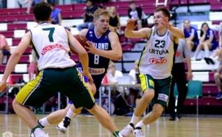 Paskutinioji Baltijos taurės turnyro diena aštuoniolikmečiams baigėsi pralaimėjimais