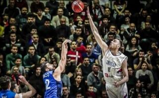 Serbai išlieka nenugalimi - pergalei neprireikė ir kelių pagrindinių žaidėjų pagalbos
