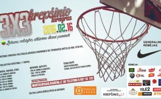 Vasario 16 -ą Šiaulių arenoje – jau septintasis 3x3 krepšinio turnyras