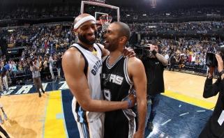"""Puikiai žaidęs T.Parkeris padėjo """"Spurs"""" pasiekti pusfinalį (video komentaras)"""