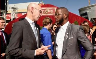 NBA žvaigždės vieningai palaiko sezono atnaujinimą, A.Silveris žada greitai paskelbti sprendimą