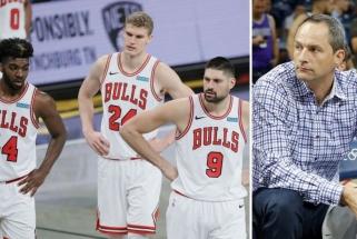 """Karnišovas neslepia nusivylimo """"Bulls"""" sezonu: privalome išmokti šią pamoką"""