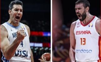 Dvi pasakos, iš kurių laimingai baigsis tik viena: kas taps pasaulio krepšinio karaliais?
