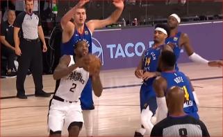 N.Jokičiaus perdavimas per visą aikštę ir K.Leonardo dėjimai - gražiausi NBA nakties momentai