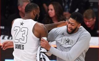 Grandioziniai mainai NBA lygoje: A.Davisas jungiasi prie LeBrono