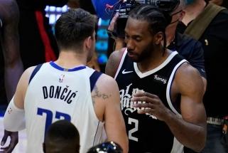 """Atkrintamosiose spindėjusio Dončičiaus sezonas baigtas: lemiamame mače triumfavo """"Clippers"""""""