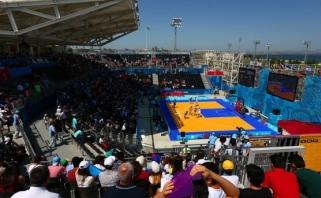 Europos žaidynėse Baku suklupo ir vyrų, ir moterų trijulės
