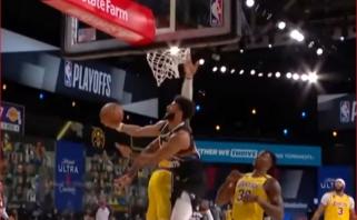 Murray'aus metimas Jordano stiliumi - gražiausias NBA nakties momentas