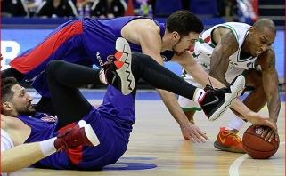 VTB lyderių dvikovoje CSKA krito savo gerbėjų akivaizdoje
