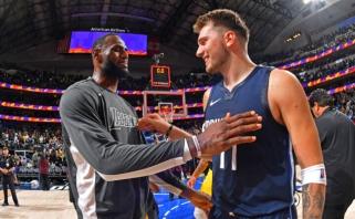Dončičius aplenkė LeBroną, o taip pat Magicą ir Simmonsą kartu sudėjus