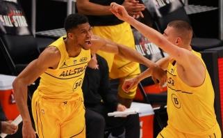 NBA savaitės žaidėjais tapo Europos krepšinio superžvaigždės