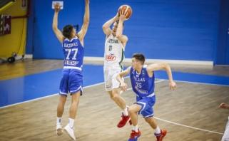 Lietuvos U16 vaikinų rinktinė Europos čempionate suklupo aštuntfinalyje