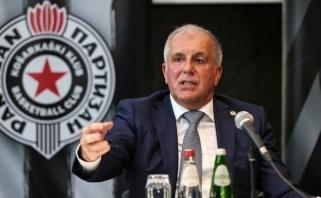 """""""Partizan"""" direktorius: Obradovičius atsisakė 10 mln., jis – fenomenalus"""