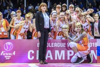Moterų Eurolygos čempionių titulą apgynė Jekaterinburgo krepšininkės