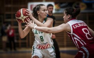 Po ilgosios pertraukos atsigavusios merginos - Europos čempionato finale!