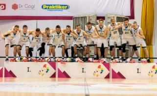 Titulą ginsiantys krepšininkai sužinojo varžovus Europos jaunimo olimpiniame festivalyje