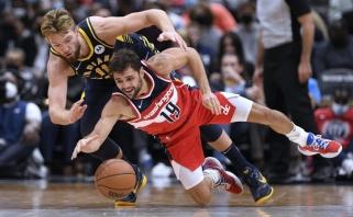 """Įspūdingas Sabonio ir Turnerio tandemas negarantavo """"Pacers"""" pergalės Vašingtone"""