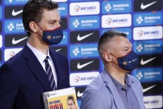 Prieš Eurolygos pusfinalį Gasolis žodžiais atidavė duoklę Jasikevičiui