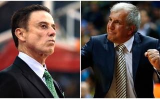 """Gomelskis: Obradovičius negalėtų iš Maskvos skraidyti į Monte Karlą, Pitino sugriovė """"Celtics"""""""