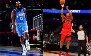 """NBA lygoje – Hardeno siautulys ir pirmosios """"Rockets"""" bei """"Raptors""""pergalės"""
