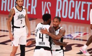 """""""Clippers"""" Dončičiui ir kompanijai atseikėjo 154 taškus"""