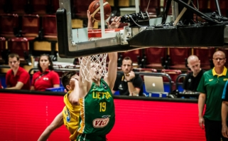 Vaikinai Europos čempionate įveikė Švedijos rinktinę