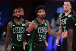 """Po skaudaus pralaimėjimo - konfliktas """"Celtics"""" rūbinėje (žaidėjų komentarai)"""