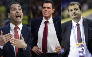 """Eurolyga už komentarus baudė CSKA, """"Maccabi"""" ir """"Anadolu Efes"""" trenerius"""