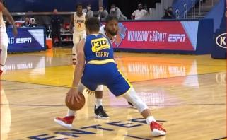 """P.George'ą """"išmaudęs"""" S.Curry sukūrė gražiausią NBA nakties epizodą"""