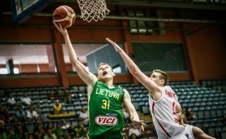 Rungtynių pabaigoje lietuvių spurtas atnešė antrą pergalę Europos čempionate