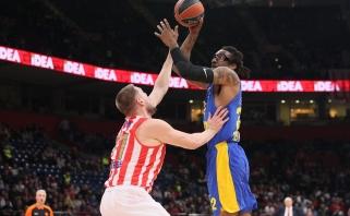 """Buvusi NBA žvaigždė nutarė nekabinti sportbačių ant vinies - sukirto rankomis su """"Maccabi"""""""