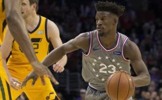 NBA naktis: pavykęs Butlerio debiutas Filadelfijoje (rezultatai)