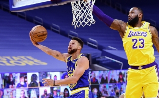 """Frye'us: """"Warriors"""" reguliarųjį sezoną baigs aukštesnėje pozicijoje už """"Lakers"""""""