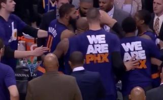"""""""Warriors"""" toliau artėja prie rekordo; """"Cavaliers"""" puolėjo K.Love'o trauma - nesunki"""