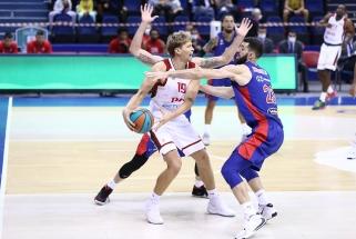 """Kuzminsko ir Kalniečio vedamas """"Loko"""" įveikė CSKA ir priešpaskutiniame ture aplenkė armiečius"""