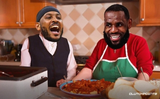 Carmelo: LeBronas – tarsi bobutė itališkame restorane