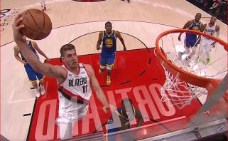 """NBA """"Top 5"""" viršūnėje - pralaimėjusių """"Blazers"""" atakos"""