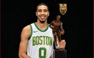 K.Perkinsas: Tatumas anksčiau ar vėliau taps MVP