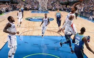 NBA Top 5 viršūnėje - įspūdingas W.Bartono perdavimas ir galingas P.George'o skrydis