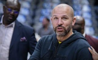 "J.Kiddas trokšta tapti ""76ers"" treneriu"