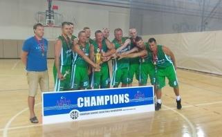Lietuvos komanda su V.Sirvydžiu ir R.Skaisgiriu sužibėjo Europos veteranų čempionate
