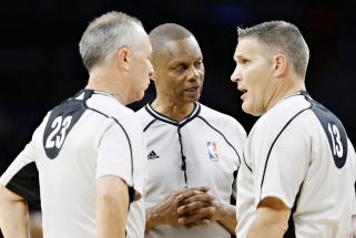 NBA teisėjai apie iššūkius tuščioje arenoje: nesinorėtų, kad visi girdėtų, apie ką kalbame