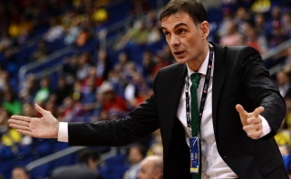 """""""Barcelonos"""" treneris siunčia signalą, kad Eurolygoje mačų krūvis - per didelis"""